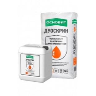 ДУОСКРИН Т-62 ОБМАЗОЧНАЯ ЭЛАСТИЧНАЯ ДВУХКОМПОНЕНТНАЯ